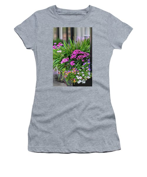 Wonderful Window Boxes Of Charleston Women's T-Shirt (Athletic Fit)