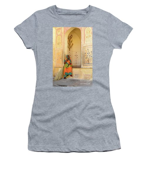 Workers In Amer Fort 01 Women's T-Shirt