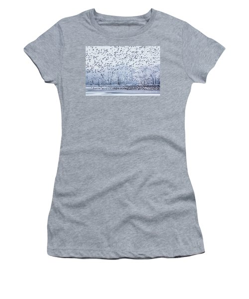 World Of Birds Women's T-Shirt (Athletic Fit)