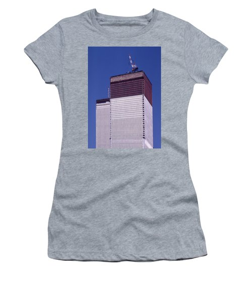 World Trade Center Under Construction Women's T-Shirt