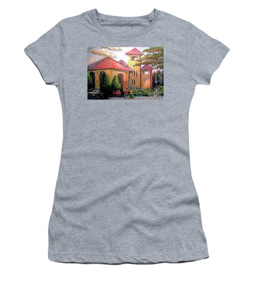 Worlds Fair Pavilion In Forest Park Women's T-Shirt (Athletic Fit)