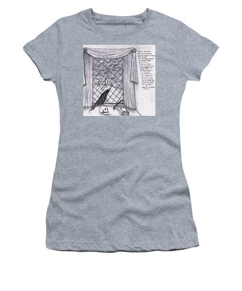 Writer's Veiw Women's T-Shirt (Athletic Fit)