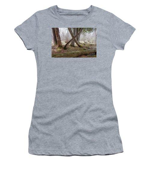 X Marks The Spot Women's T-Shirt (Junior Cut) by Sandra Updyke