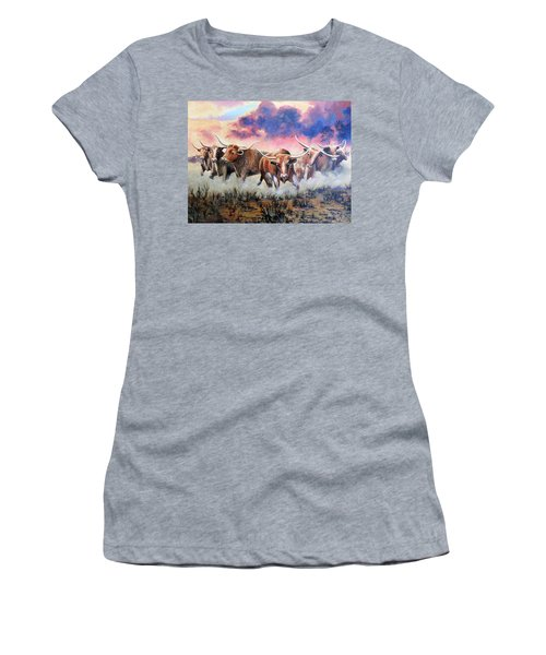 Yee Haw Women's T-Shirt (Athletic Fit)