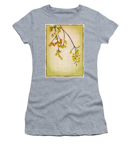 Yellow Berries Women's T-Shirt (Athletic Fit)