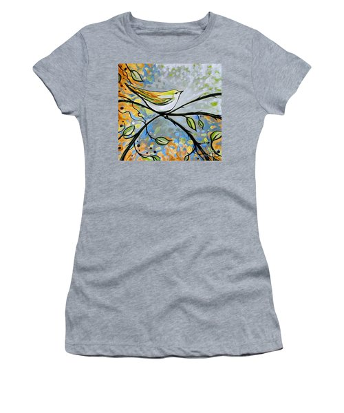 Yellow Bird Among Sage Twigs Women's T-Shirt