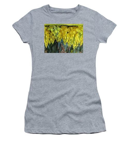 Yellow Buds Women's T-Shirt (Athletic Fit)