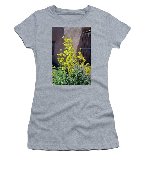 Yellow Composites At Ghost Ranch  Women's T-Shirt