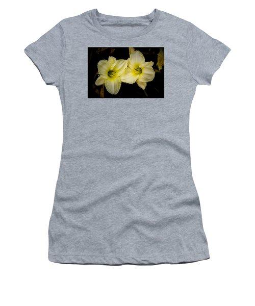Yellow Day Lilies Women's T-Shirt