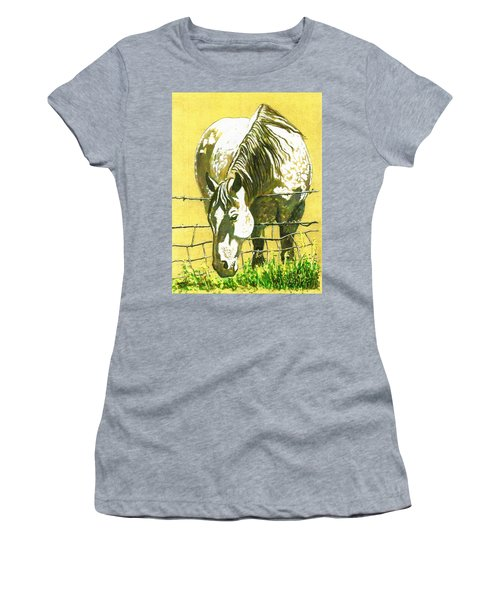 Yellow Horse Women's T-Shirt