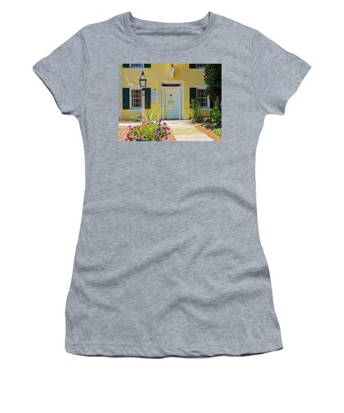 Yellow House In Kingston Women's T-Shirt