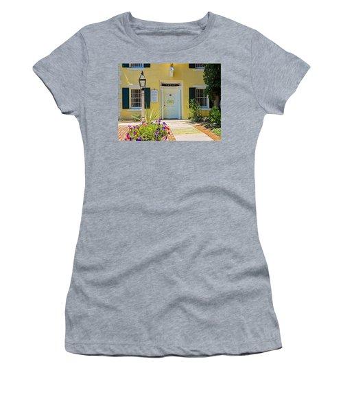 Yellow House In Kingston Women's T-Shirt