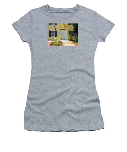 Yellow House In Kingston Women's T-Shirt (Athletic Fit)