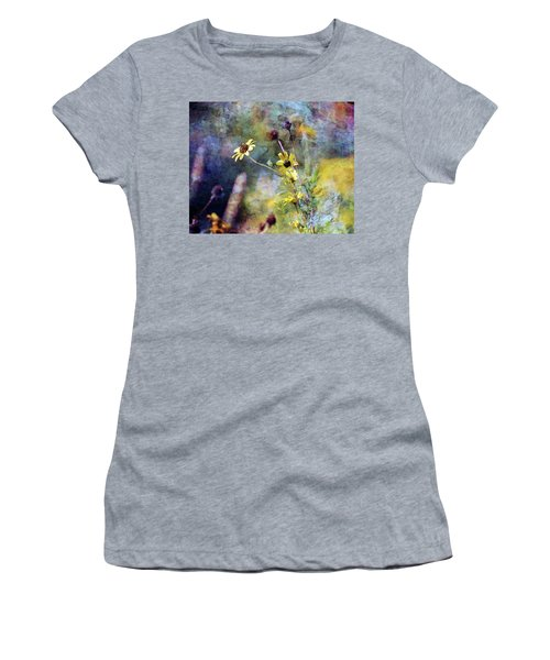 Yellow Wildflowers 3230 Idp_2 Women's T-Shirt (Athletic Fit)