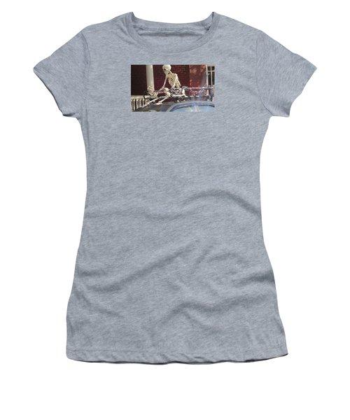 Yes It Is Halloween Women's T-Shirt (Junior Cut) by Jeanette Oberholtzer