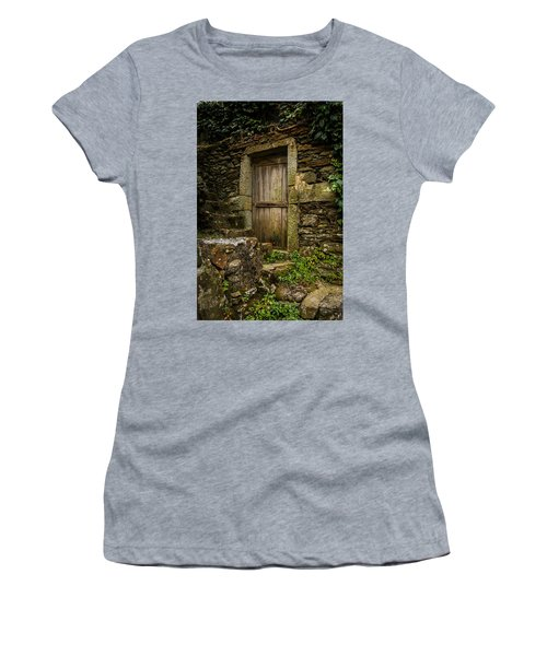 Yesterday's Garden Door Women's T-Shirt (Athletic Fit)