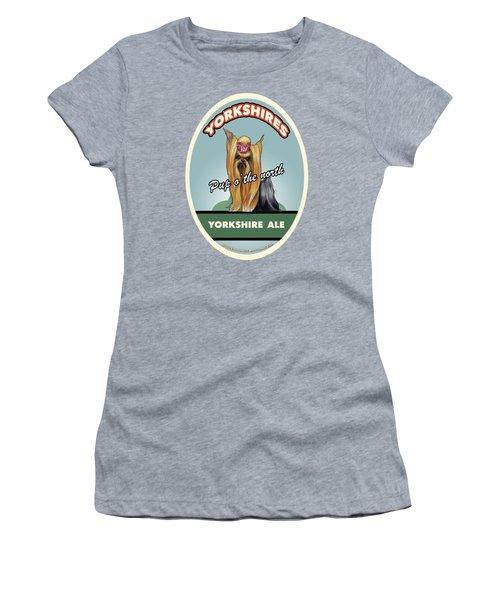 Yorkshire Ale Women's T-Shirt (Athletic Fit)