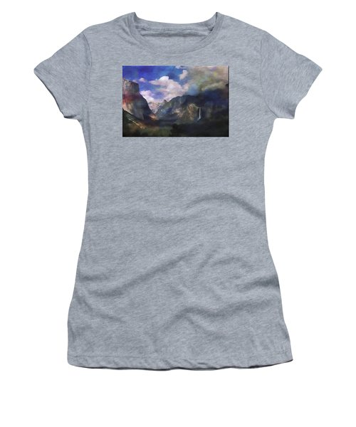 Yosemite H2o Color Women's T-Shirt (Athletic Fit)