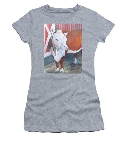 You Lookin At Me Women's T-Shirt (Athletic Fit)