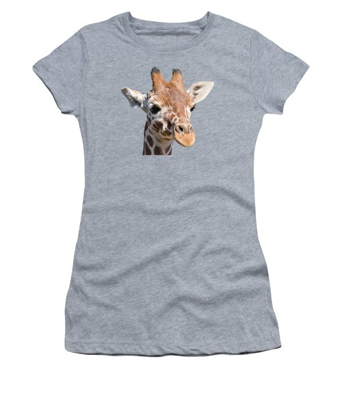 Young Giraffe  Women's T-Shirt