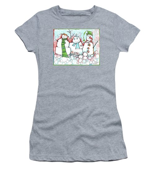 Yuletides From The Brink Women's T-Shirt (Athletic Fit)