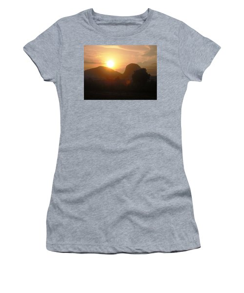 Zuma Rock, Abuja Nigeria Women's T-Shirt (Athletic Fit)
