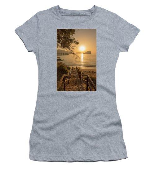 Access To The Beach At Dawn Women's T-Shirt
