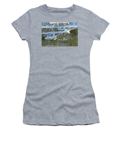 Women's T-Shirt featuring the photograph Art Print Abstract 19 by Harry Gruenert