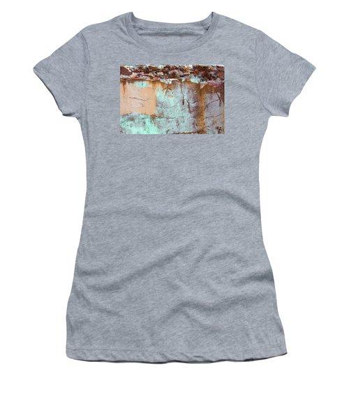 Women's T-Shirt featuring the photograph Art Print Abstract 25 by Harry Gruenert