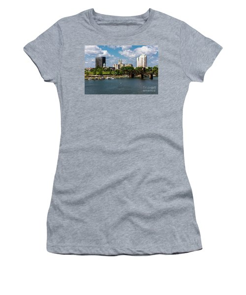 Augusta Ga - Savannah River Women's T-Shirt