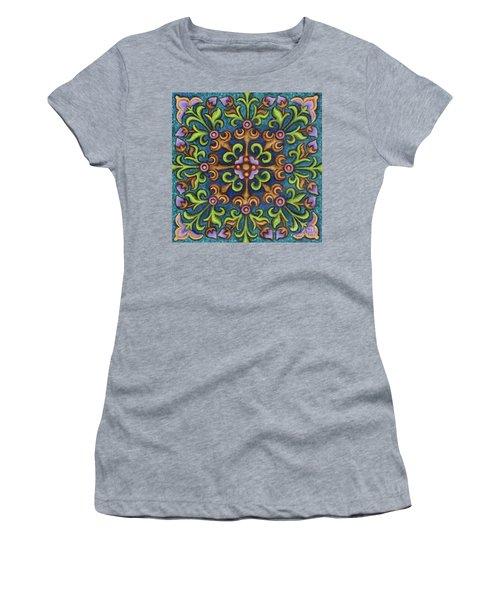 Botanical Mandala 8 Women's T-Shirt