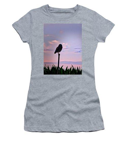 Burrowing Owl On A Stick Women's T-Shirt