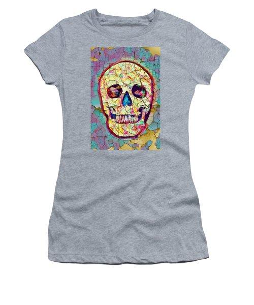 Colorful Skull Women's T-Shirt