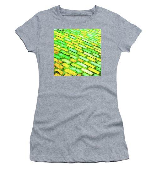 Diagonal Street Cobbles Women's T-Shirt