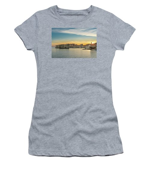 Dubrovnik Old Town At Sunset Women's T-Shirt