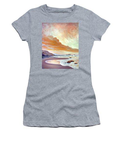 San Simeon Beach Women's T-Shirt