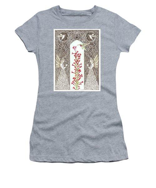 Hummingbird Sanctuary Women's T-Shirt