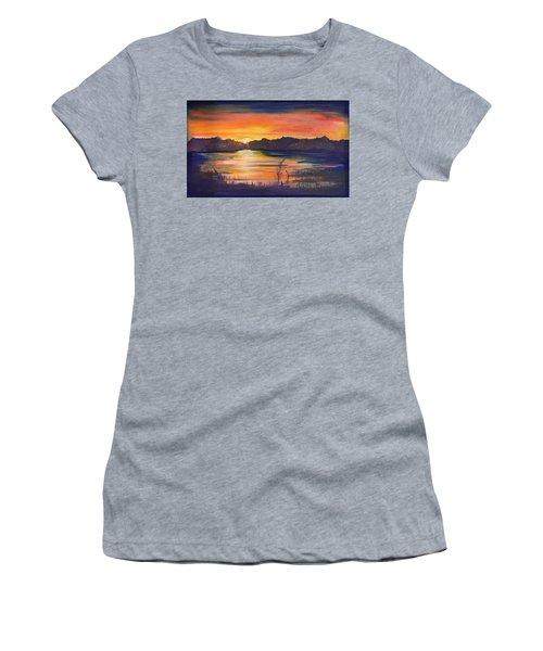 Lake Sunset  Women's T-Shirt