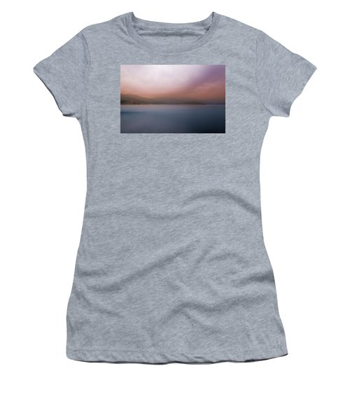 Women's T-Shirt featuring the photograph Misty Afternoon by Milena Ilieva