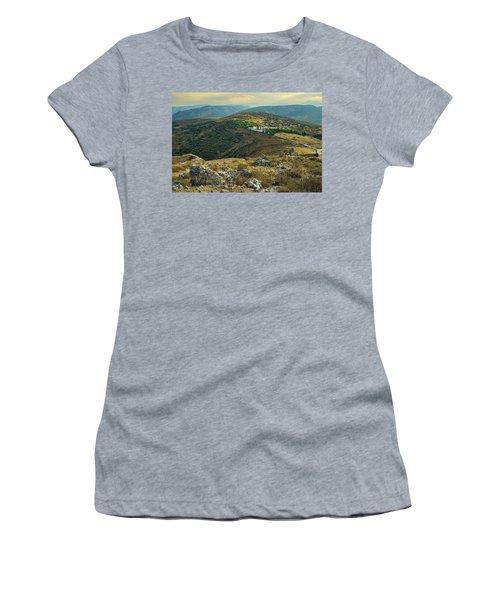 Monastery Agion Anargiron Above Argos Women's T-Shirt