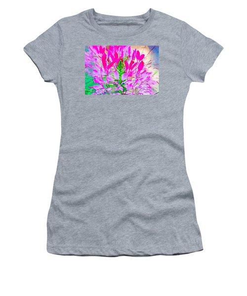 Pink Queen Watercolor Women's T-Shirt