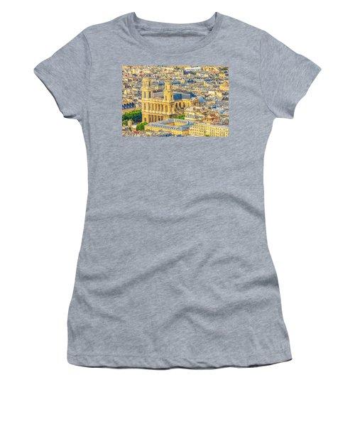 Saint Sulpice Church Paris Women's T-Shirt