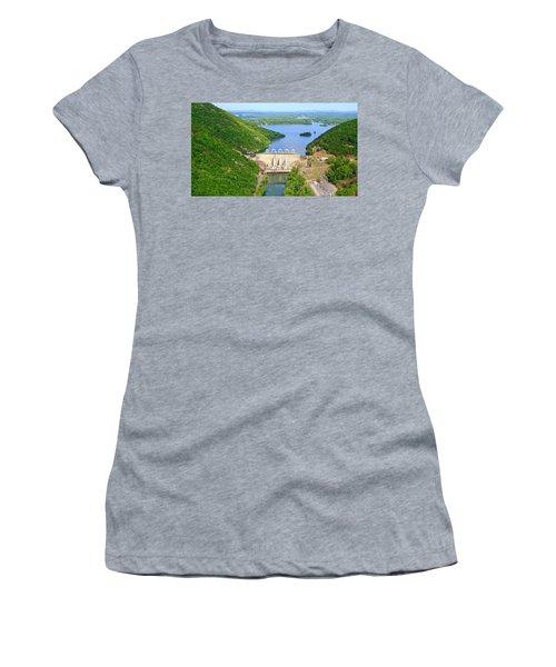Smith Mountain Lake Dam Women's T-Shirt