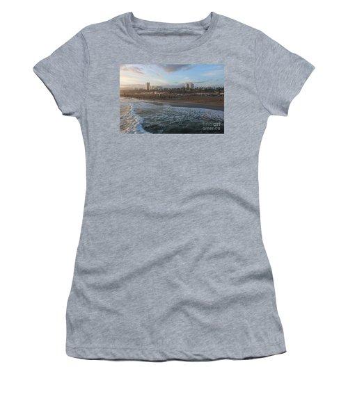 Pacific Sunset , Santa Monica, California Women's T-Shirt