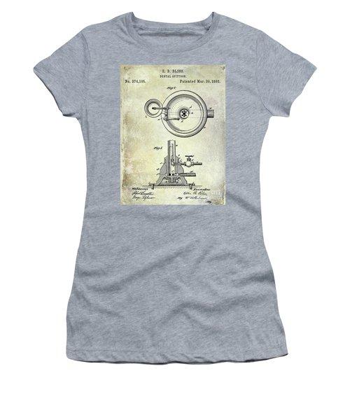 1883 Dental Spittoon Patent  Women's T-Shirt
