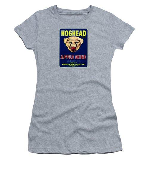 1940s Hoghead Apple Wine Women's T-Shirt