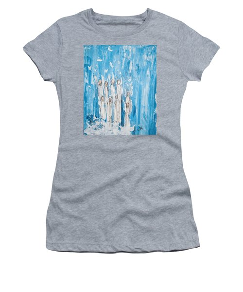 Heavenly Host Of Angels  Women's T-Shirt