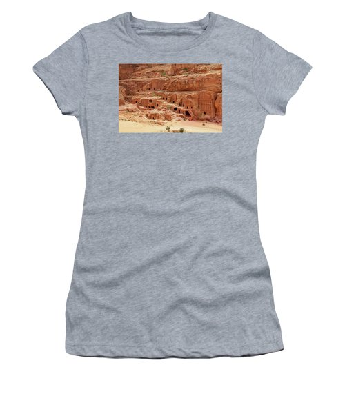 Petra, Jordan - Cave Dwellings Women's T-Shirt