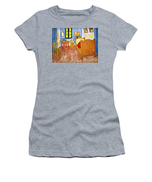 Van Gogh's Bedroom At Arles Women's T-Shirt