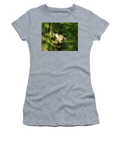 20/06/14  Keswick. Lamb In The Woods. Women's T-Shirt